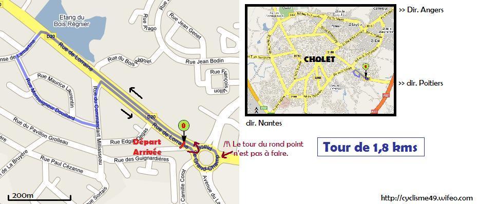 Cyclisme gp leclerc de lune de cholet 2008 - Meteo cholet 49 ...