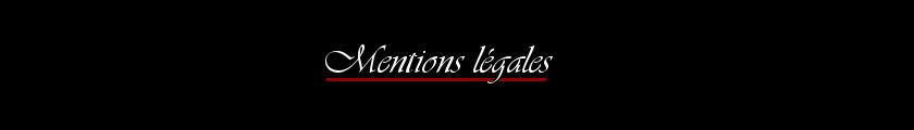 titre mentions legales